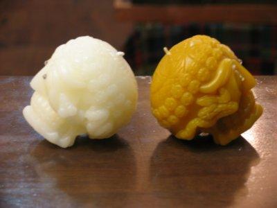 画像1: NOCHE CANDLE 「Tibetan Skull B」