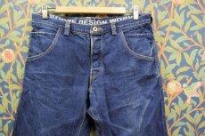 画像1: BOOZE DESIGN WORKS  藍染デニムpants 3年物 34インチ(実寸) (1)