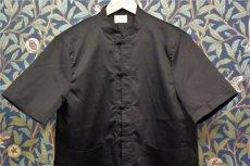 画像1: BOOZE カンフー半袖コットンシルクシャツ(レディースあり) (1)