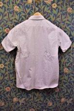 画像2: BOOZE  シャトル織機ホワイトオックスフォード 定番半袖シャツ (2)