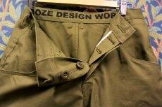 画像2: BOOZE DESIGN WORKS  3/4pants(米軍放出ODサテン生地)32~42inch (2)