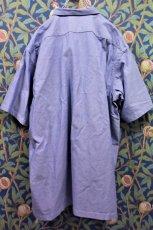 画像4: BOOZE  Open Collar Shirt(シャトル織機ブルーオックスフォード開襟シャツ) (4)