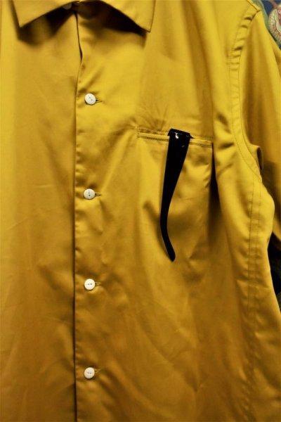 画像2: BOOZE  Open Collar Shirt(コットンシルク開襟シャツ)