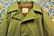 画像2: BOOZE Military Jacket(1970'S M-65 OD生地使用) (2)
