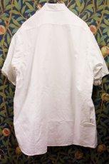 画像3: BOOZE  Stand Collar Shirt(シャトル織機ホワイトオックスフォード) (3)