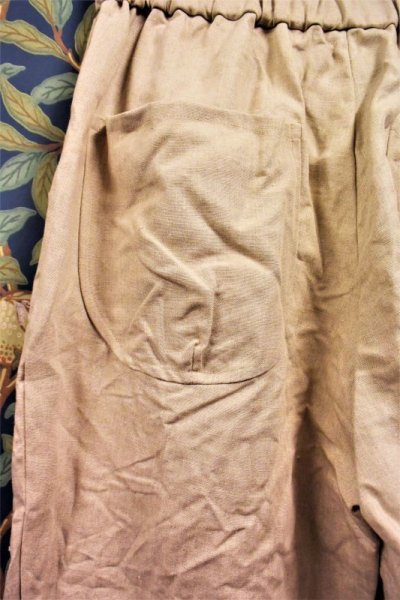 画像2: BOOZE DESIGN WORKS linen Easy Pants(男女兼用)