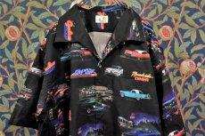 画像1: BOOZE  Open Collar Shirt(車柄開襟シャツ) (1)