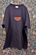 画像2: BOOZE スイカ刺繍Tシャツ(アートワーク中村穣二) (2)