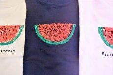 画像2: BOOZE  スイカ刺繍 キッズTシャツ (2)