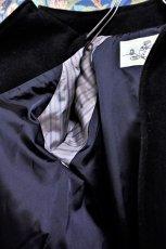 画像6: BOOZE  Fly Front Raglan Half Coat(ミドル丈ステンカラーコート裏地甲州織)衿微調整版 (6)