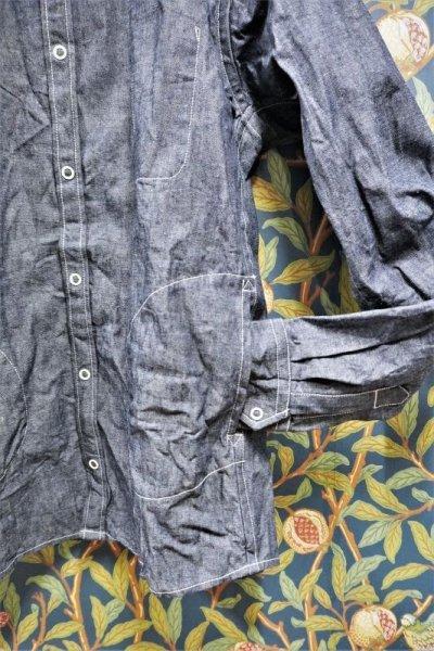 画像2: BOOZE Pocket Shirt(ダンガリーシャツ)