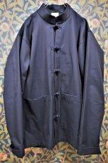 画像2: BOOZE Kung fu Jacket(玉虫生地カンフージャケット) (2)