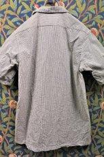 画像4: BOOZE  Open Collar Shirt(シアサッカー開襟シャツ) (4)