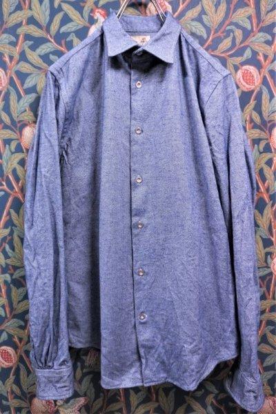画像1: BOOZE  Gathered Shirt(イタリア製オックスフォードギャザーシャツ)