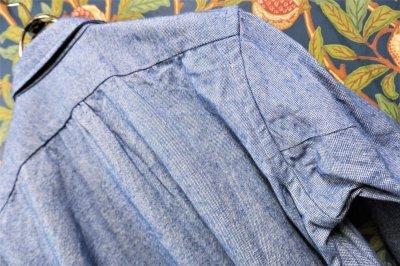 画像2: BOOZE  Gathered Shirt(イタリア製オックスフォードギャザーシャツ)