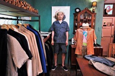 画像3: BOOZE DESIGN WORKS Shorts(ダンガリーライン短パン)