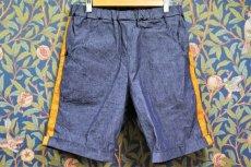 画像1: BOOZE DESIGN WORKS Shorts(ダンガリーライン短パン) (1)