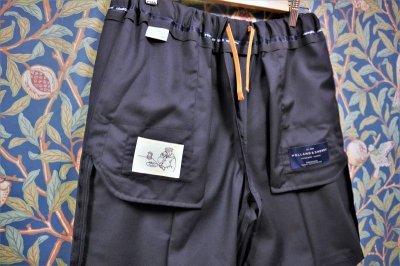 画像1: BOOZE DESIGN WORKS  Short Pants (生地HOLLAND&SHERRY)ミッドナイトブルー