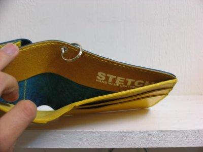 画像2: STETCH 二つ折り財布