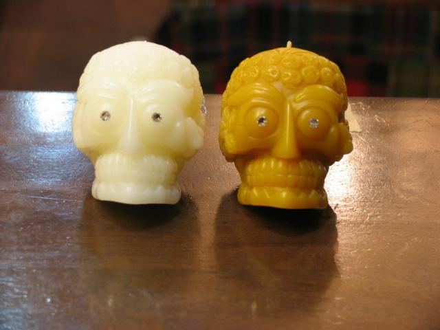 画像1: NOCHE CANDLE 「Tibetan Skull B」 (1)