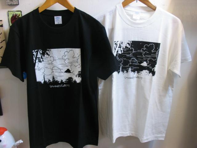 画像1: SMOKERS FOREST Tシャツ