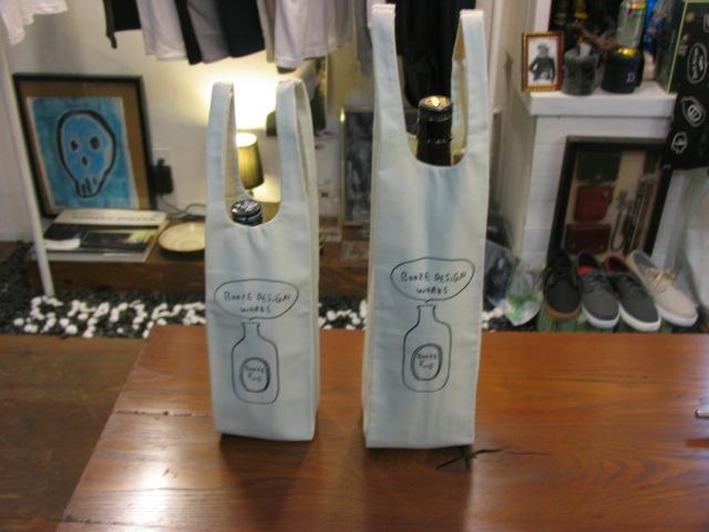 画像1: BOOZE 瓶用トートバッグ (1)