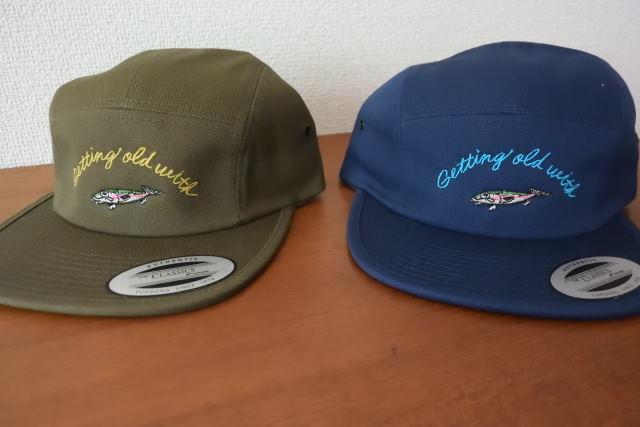 画像1: タコライド FISH 刺繍CAP (1)