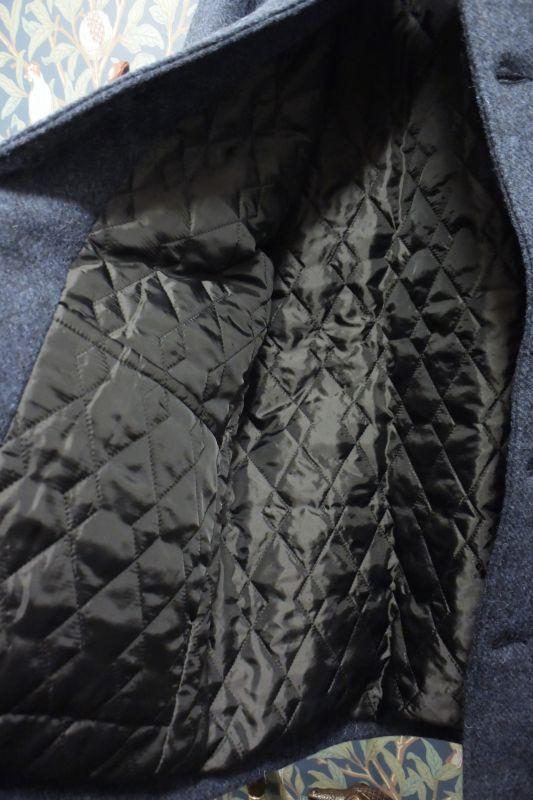 画像3: BOOZE  ウールジャケット(レザーボタン裏地キルティング) 特別価格品(残りXLのみ)