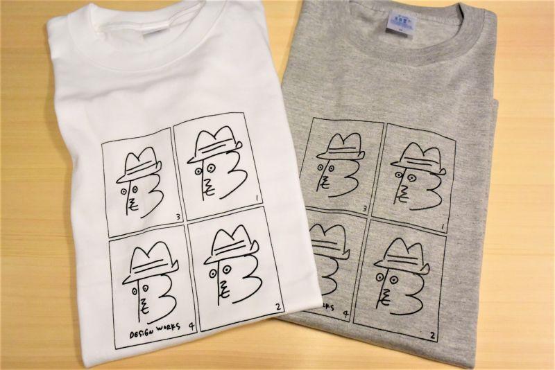 画像1: BOOZE ニューロゴTシャツ アートワーク中村穣二 (特別価格)