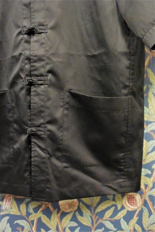 画像2: BOOZE カンフー半袖コットンシルクシャツ(レディースあり)