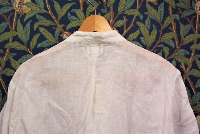 画像2: BOOZE カンフー半袖フレンチリネン(レディースあり)