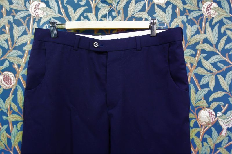 画像1: BOOZE DESIGN WORKS  古着8分丈サマーウールpants 89cm(実寸)