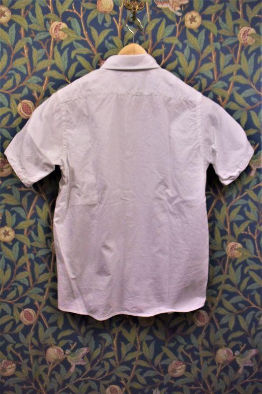 画像2: BOOZE  シャトル織機ホワイトオックスフォード 定番半袖シャツ