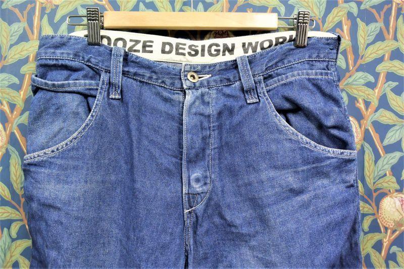 画像1: BOOZE DESIGN WORKS  古着7分丈シャンブレーpants W86cm(実寸)