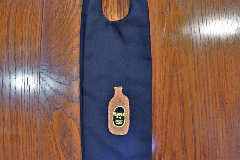 画像1: BOOZE ワッペン瓶用トートバッグ (1)