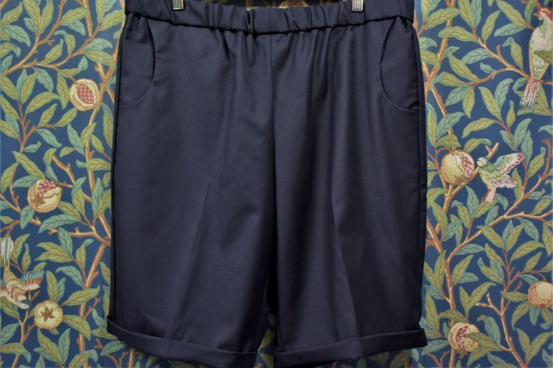 画像1: BOOZE DESIGN WORKS  Short Pants 生地HOLLAND&SHERRY (1)