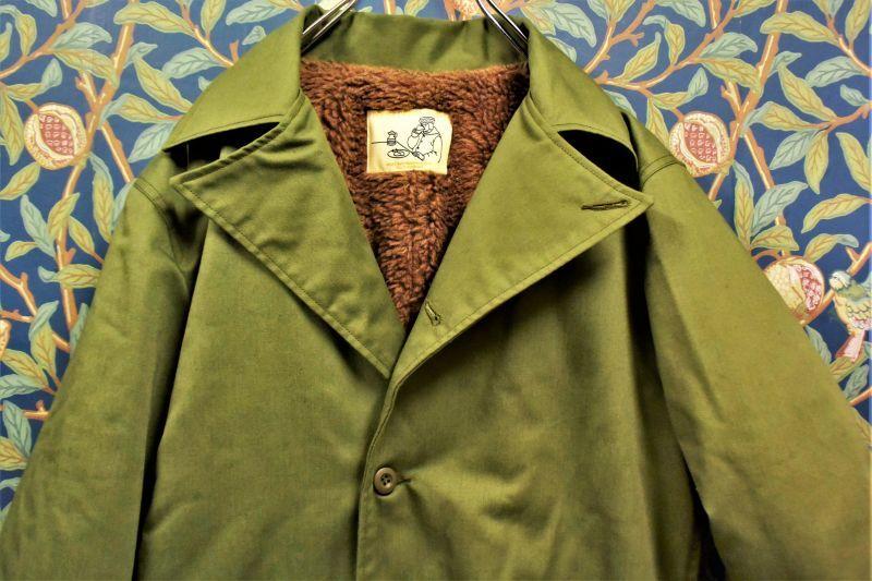 画像1: BOOZE Military Jacket(1970'S M-65 OD生地使用) (1)