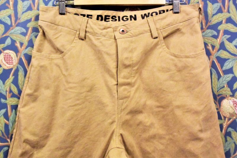 画像1: BOOZE DESIGN WORKS  Work Pants(2019アップデート版)38inch以上はオーダー受付 (1)