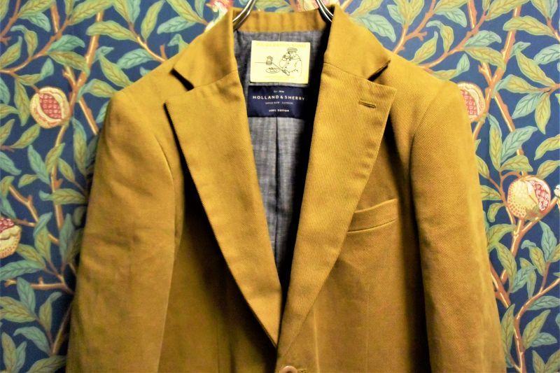 画像1: BOOZE Jacket(テーラードジャケット)生地HOLLAND&SHERRY (1)