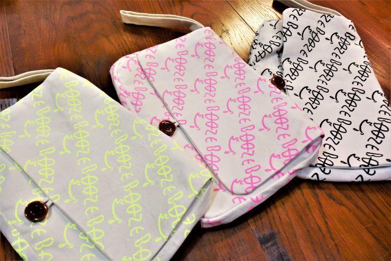 画像1: BOOZE Handbag(総柄ハンドバッグ) (1)