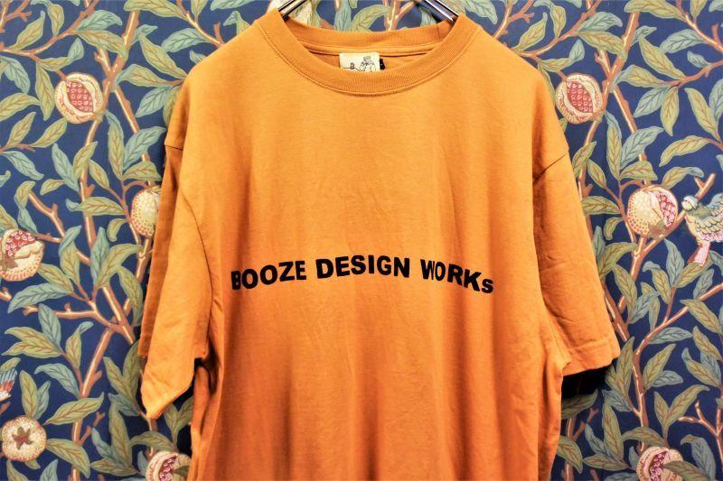 画像1: BOOZE Logo Tee (1)