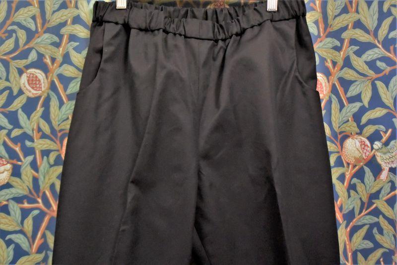 画像1: BOOZE DESIGN WORKS Gabardine Easy Pants(センタープレス入りギャバジン) (1)