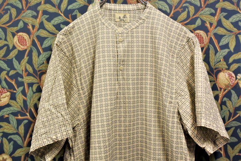 画像1: BOOZE Henri Shirt(ポケットヘンリーシャツ) (1)