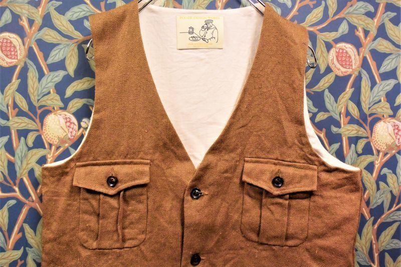 画像1: BOOZE Vest (残布シリーズ) (1)