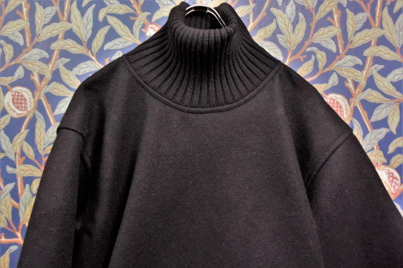 画像1: BOOZE Roll Neck Pullover(メルトンロールネック) (1)