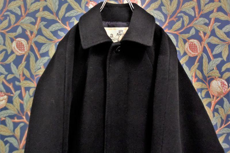 画像1: BOOZE  Fly Front Raglan Half Coat(ミドル丈ステンカラーコート裏地甲州織)衿微調整版 (1)