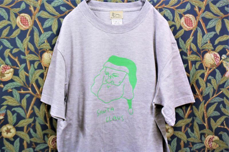 画像1: BOOZE サンタクロースTシャツ(アートワーク中村穣二) (1)