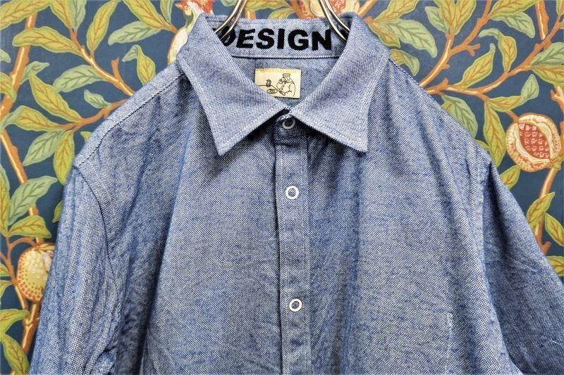画像1: BOOZE Pocket Shirt(肉厚イタリア製オックスフォードシャツ)  (1)