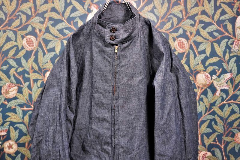 画像1: BOOZE Harrington Jacket(ダンガリーハリントンジャケット) (1)