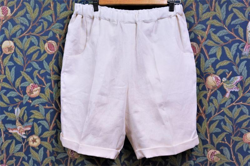 画像1: BOOZE DESIGN WORKS Shorts(麻短パン) (1)
